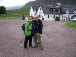 West Highland Way hiking, 2012