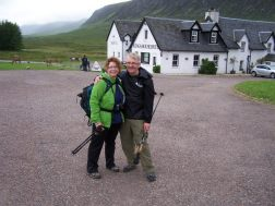 West Highland Way hiking, 2012