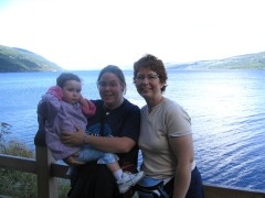 At Loch Ness in 2005