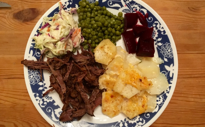 #SavourySunday: Slow Cooker Beef Brisket